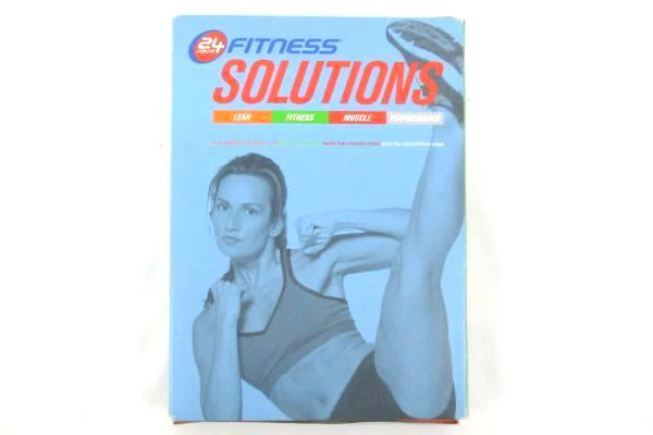 24 Hour Fitness Solutions Manual And Journal 2005