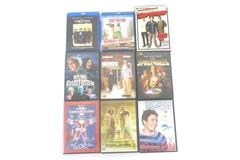 Lot of 9 Comedy Action Humor Movies Superbad Tombstone The Dictator Mr. Deeds