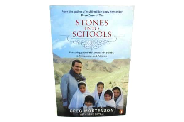 GREG MORTENSON Stones into Schools Promoting Peace...Paperback Book 2009