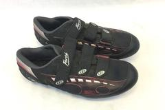 Forte Men's Black an Red Cycling Shoes Size 8 CR300