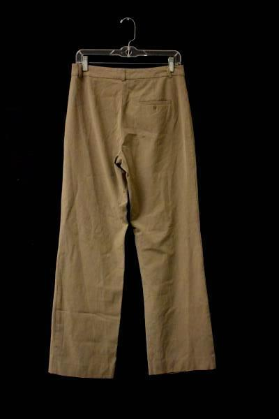 Dress Pants Old Navy Brown 49% Rayon 48% Polyester Women's Size 8