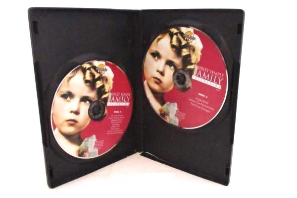 Shirley Temple Family Collection Vol. 1 Over 2 Disc DVD Set
