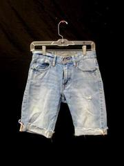 Distressed Shorts American Eagle Outfitters Light Blue Girl's Size 26/28