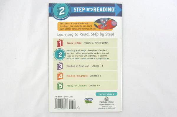 Dr. Seuss Step Into Reading 2 Planet Name Game by Tish Rabe 2015 Paperback