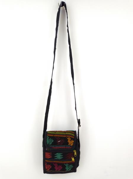 Guatemalan Hand Woven Mochila Crossbody Bag Mini 12pc CONCERNED CRAFTS NOS Lot C