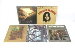 "Lot of 5 Jackson Browne 12"" Vinyl 33 RPM LP Records For Everyman Pretender"