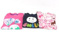 Lot of 3 Long Sleeve Girls Shirts Back To School Duck Dynasty Smile Horses Large