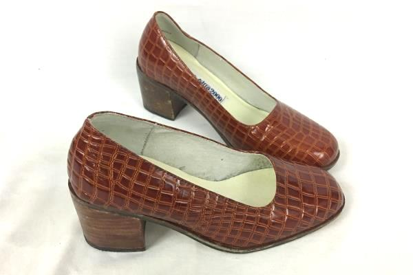 Beverly Hills 2000 Women's Blood Orange Heels Size 6.5