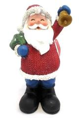 "12"" Ceramic American Greetings Santa Holding Sack of Toys & Bell 422798"