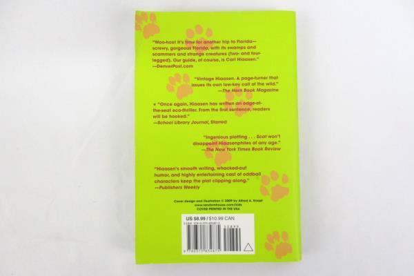 Scat by Carl Hiaasen 2010, Paperback Bestseller