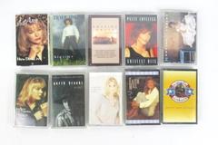 Lot of 10 Cassette Tapes Various Artist Country Garth Brooks Leann Rimes