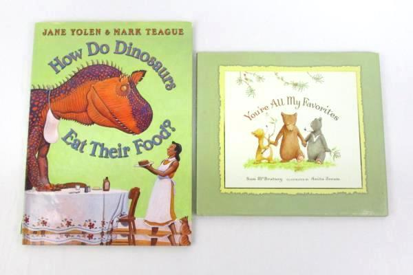 2 Children's Books: You're All My Favorites + How Do Dinosaurs Eat Their Food?