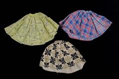 Handmade Miss Nancy Ann Clothing Skirts Blue/Red Plaid Yellow/Gray Black/Cream