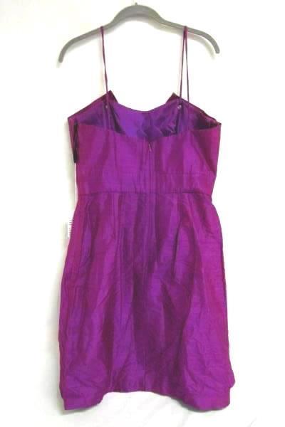 Formal Dress Watters & Watters Purple Ruffled 100% Acetate Women's Size 10 W/Tag