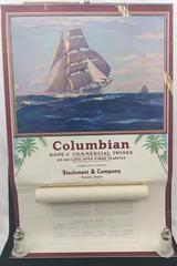 "Vintage 1947 Columbian Rope & Commercial Twines Calendar Poster ""Galilee"""