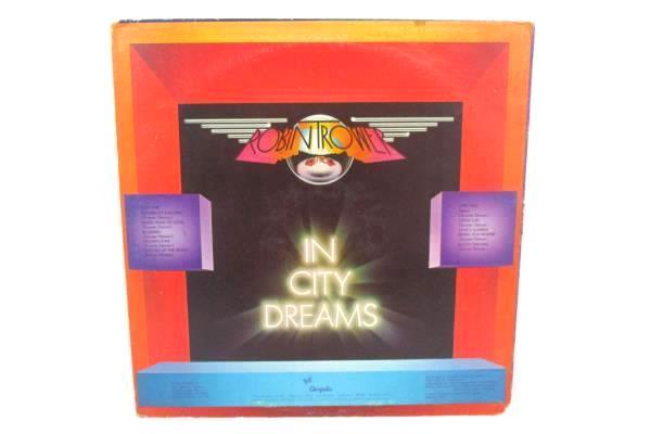 "Robin Trower ""In City Dreams"" 1977 12"" Vinyl 33 RPM LP Record Rock CHR-1148"