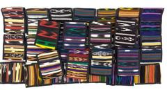 28pc Lot Guatemalan Hand Woven Passport Travel Wallet CONCERNED CRAFTS