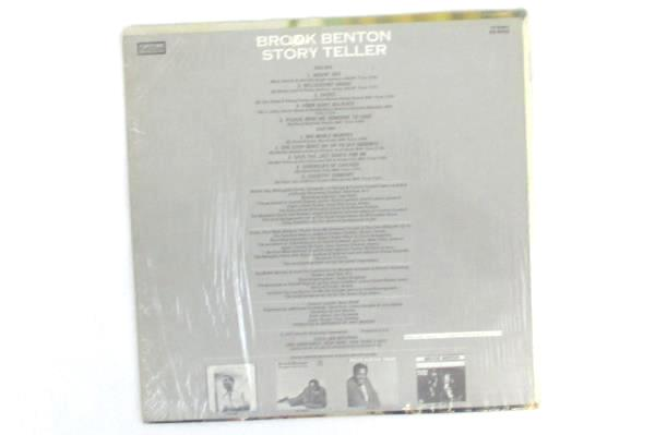 "Brook Benton - Story Teller 1972 12"" Vinyl 33 RPM LP Record SD-9050"