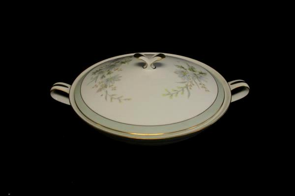 Noritake China Covered Vegetable Bowl Michelle 6021