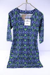Haley and the Hound V-Neck Dress Navy Equestrian Women's XS -  New with Tags