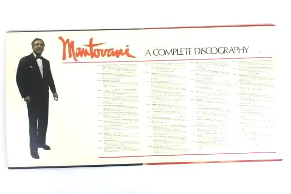 """Mantovani And His Orchestra - From Monty, With Love 12"""" Vinyl 33 RPM 2xLP Record"""
