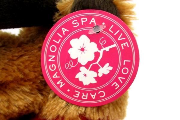 Magnolia Spa Live Love Care Stuffed Plush Toy Moose New With Tag
