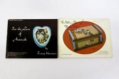 Lot of 2 Tole Painting Books - For Whom The Bell Toles + For The Love of Animals