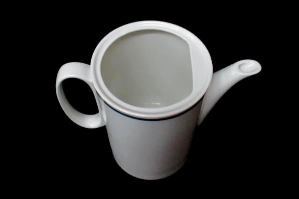 Villeroy & Boch Carrousel Blue Yellow Bands Carafe Coffee Pot No Lid