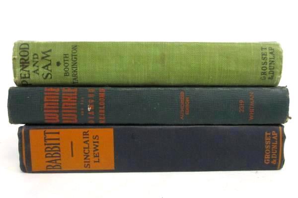 Lot 7 Vintage Books Winnie Winkle, Penrod And Sam, Cass Timberlane, Babbit, etc