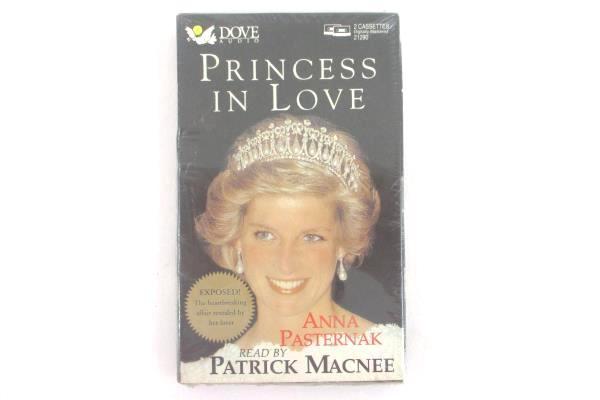 Princess In Love by Anna Pasternak Vintage 2-Cassette Audio Book Princess Diana