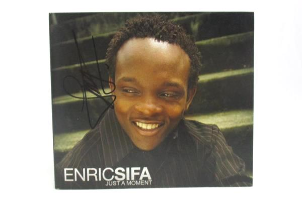 Enric Sifa - Just A Moment 2007 CD ENS 407 Signed