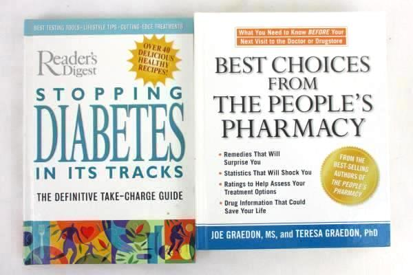 Lot of 6 Health Lifestyle Books Reader's Digest, Joe Graedon, Liz Vaccariello