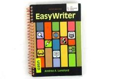 EasyWriter 5th Ed. w/ Student Access Code by Andrea A. Lunsford 2013 Spiral