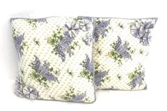 Set of 2 Throw Decorative Pillows w/ April Cornell CLASSIC FLORALS Pillow Covers