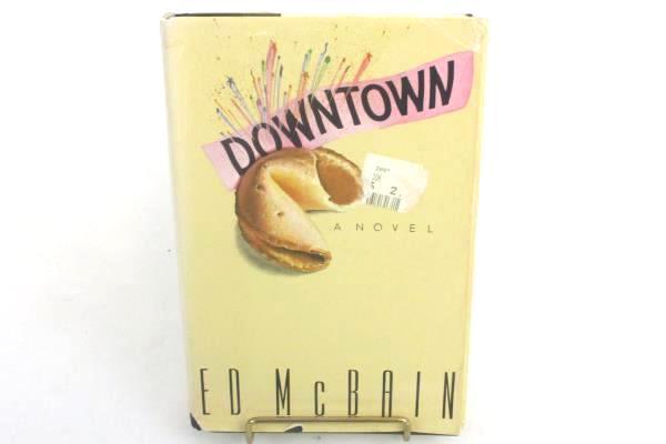 DOWNTOWN Ed McBain 1st US Edition 1991 Mystery Hardcover Dust Jacket