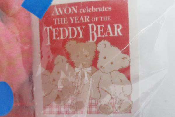 Avon Celebrates The Year Of The Teddy Bear 2002 Talking Stuffed Animal Sealed