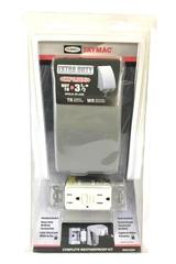 TayMac Out Door Weather Proof Electrical Box Kit Complete NEW IN BOX