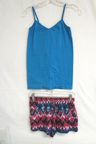 Set of 2 Pajamas No Boundaries Top Bottom Multicolor Girl's Sz Small (3-5)