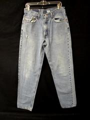 Jeans Levi's Strauss&CO Relaxed Fit Light Blue 100% Cotton Men's Size W34/L36