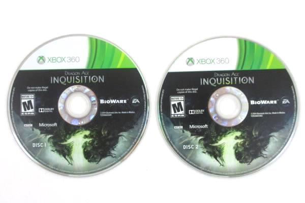 XBOX 360 EA 1999-2004 Dragon Age Inquisition Rated Mature