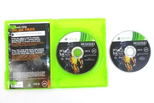 XBOX 360 EA 2011 Battlefield 3 Limited Edition Rated Mature