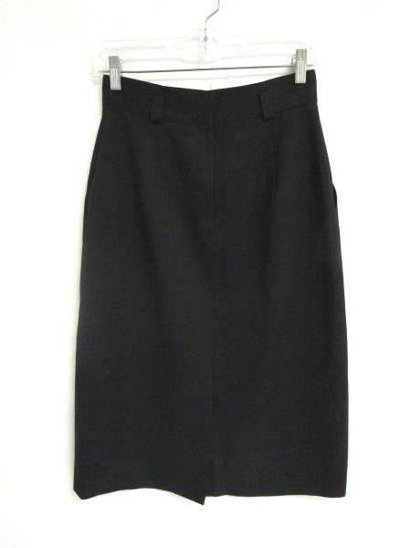 Skirt Jones New York Black 100% Pure Wool Women's Size 10 ***Dry Clean Only***
