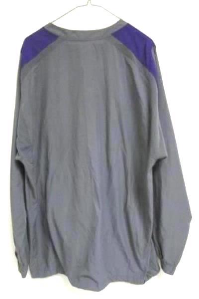 Windbreaker Nike Storm-Fit Grey/Purple Mesh 100% Polyester Men's Size Med. W/Tag