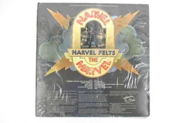 "Narvel Felts ""Narvel The Marvel"" 1976 12"" Vinyl 33 RPM LP Records Rock"
