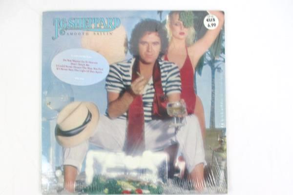 "T.G Sheppard ""Smooth Sailin"" 1980 12"" Vinyl 33 RPM LP Records Rock"