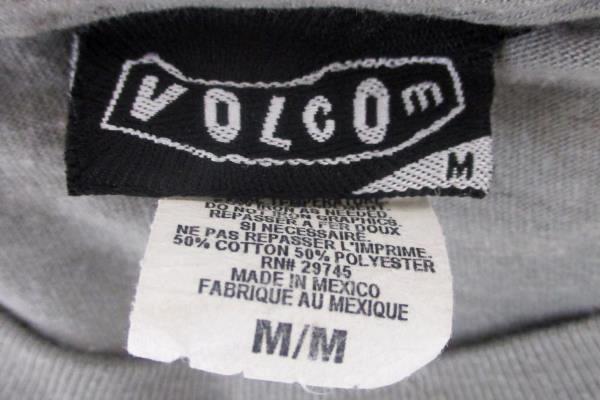"Volcom ""Revolution"" Gray Cotton Blend Men's Size Medium"