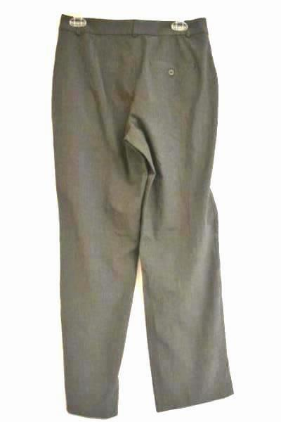 Business Slacks Old Navy Stretch Dark Grey/Pleated Rayon Blend Women's Size 8