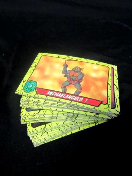 Lot Of 1st Series Teenage Mutant Ninja Turtle Cards