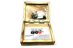 Love Locks Owl Custom Diffuser Locket Necklace Jewelry Box Included Copper Color