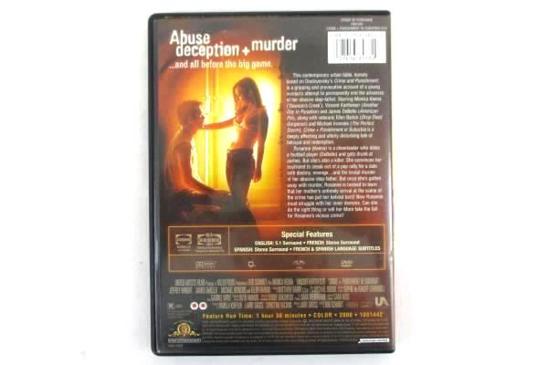 Crime + Punishment In Suburbia (2000) DVD Rated R Monica Keena Michael Ironside